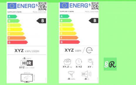 этикетки энергоэффективности 2021 в ЕС