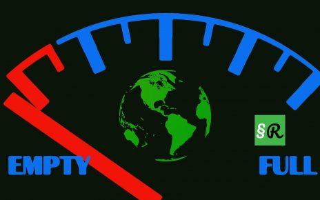 Ископаемое топливо уменьшается