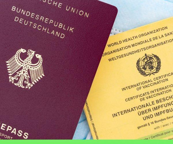 Паспорт прививок для путешествий по ЕС