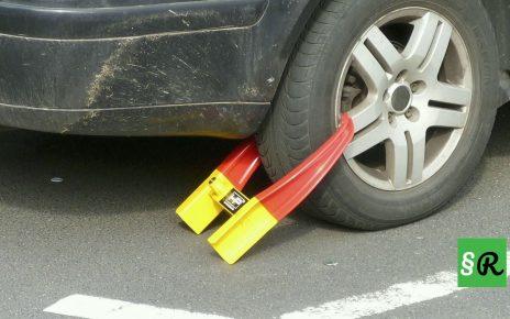 Блокировка автомобиля за неправильную парковку