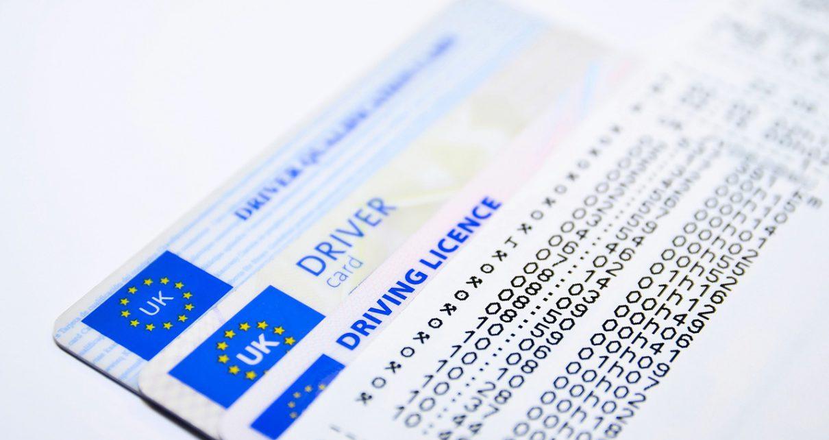 иностранные водительские удостоверения