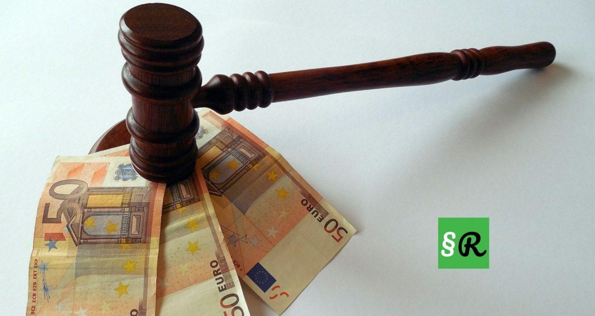 Размер судебных сборов и стоимость адвоката в Германии в 2021 году