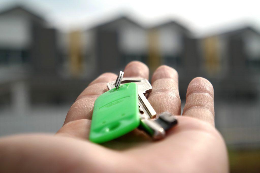 Ключи от арендованного жилья
