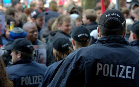 Митинг и полиция