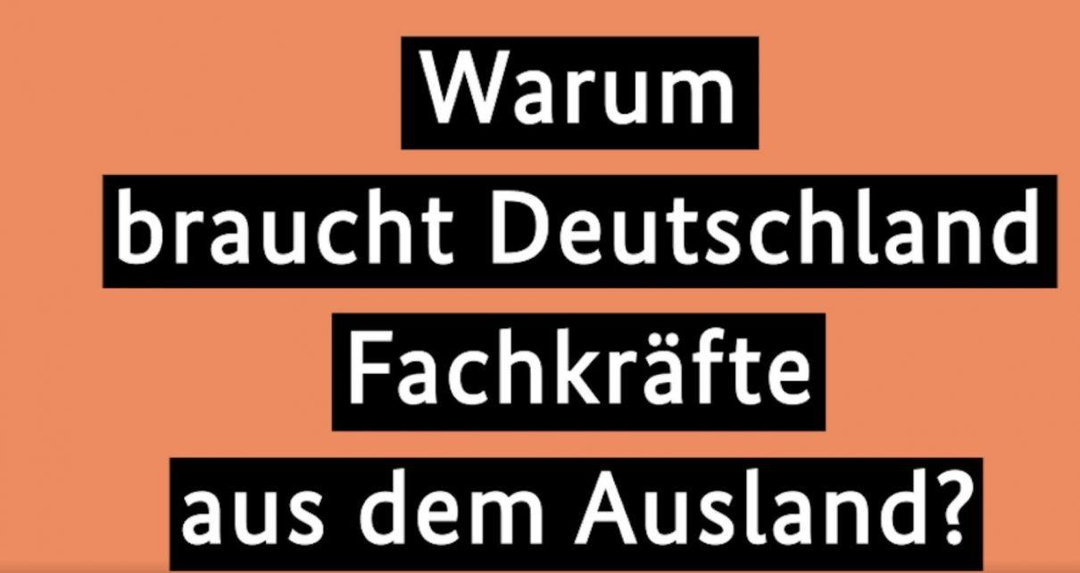 Видеоподкаст Меркель об иммиграции специалистов