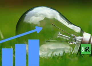 Электролампочка на траве
