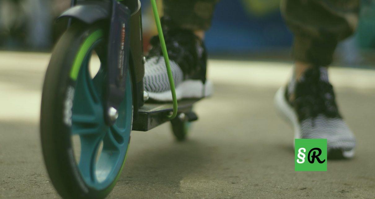 Парковка электро-скутера
