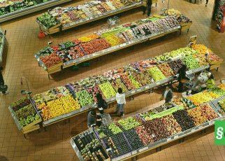 супермаркет с дрона