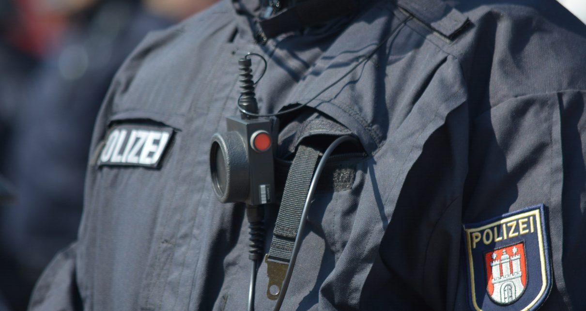 Видеокамера на немецком полицейском