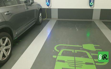 Зарядка для электромобиля в Германии