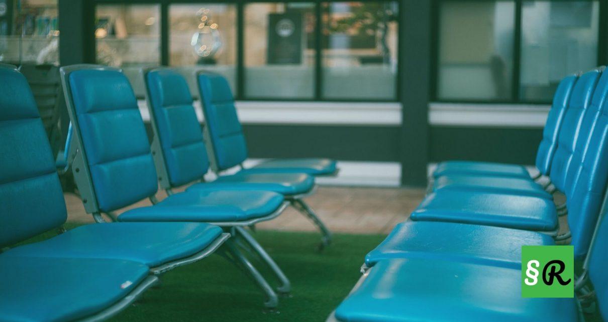 Пустой аэропорт в ЕС