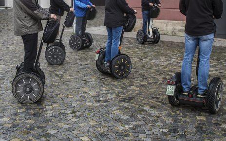 Е-скутеры на дорогах Германии